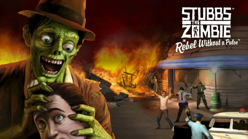 Ремастер Stubbs the Zombie in Rebel Without в марте выйдет на PS4 и PS5