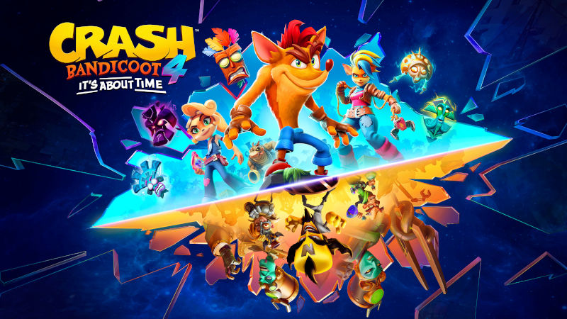 Crash Bandicoot 4: It's About Time готовится к выходу на PlayStation 5