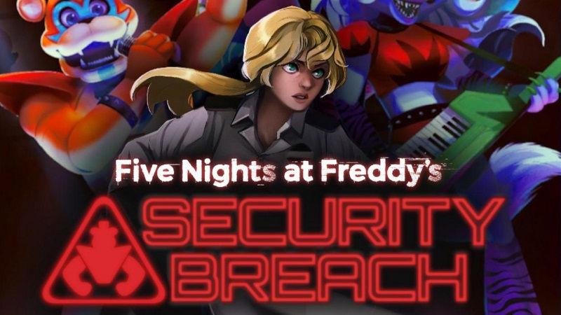 Геймплейный трейлер Five Nights at Freddy's: Security Breach для PS5