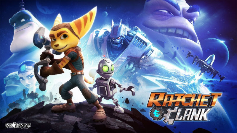 Игра Ratchet & Clank для PS4 доступна для бесплатного скачивания в рамках акции «Играйте дома»
