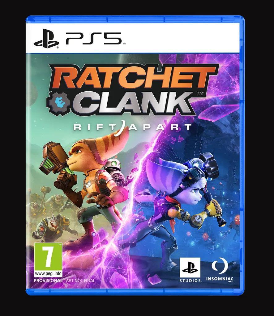 Обложка Ratchet & Clank: Rift Apart
