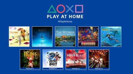 Пора забирать 9 игр Play at Home в PS Store