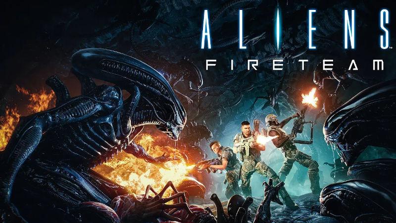 25 минут геймплея кооперативного шутера Aliens: Fireteam