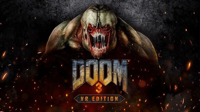 DOOM 3 скоро появится на PlayStation VR