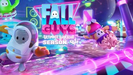 Трейлер к старту 4 сезона Fall Guys: Ultimate Knockout