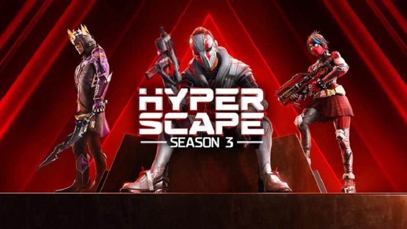 Стартовал третий сезон «королевской битвы» Hyper Scape