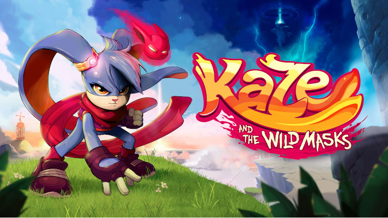 Платформер Kaze and the Wild Masks вышел на PlayStation 4