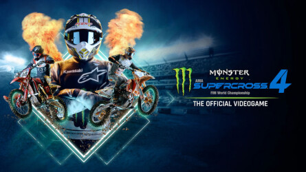 Трейлер к выходу Monster Energy Supercross 4 на PS5 и PS4