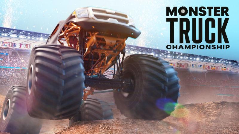 Трейлер к выходу Monster Truck Championship на PS5