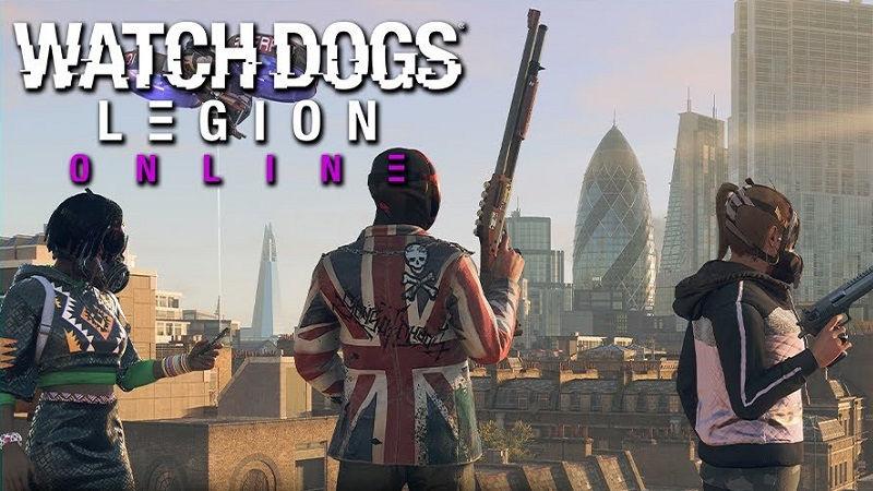 Watch Dogs Legion для PS4 и PS5 завтра получит онлайн-режим