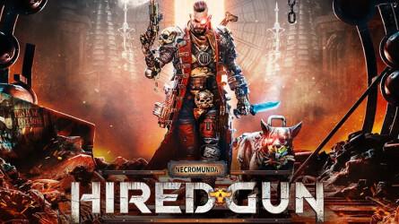 Геймплейный трейлер зрелищного боевика Necromunda: Hired Gun
