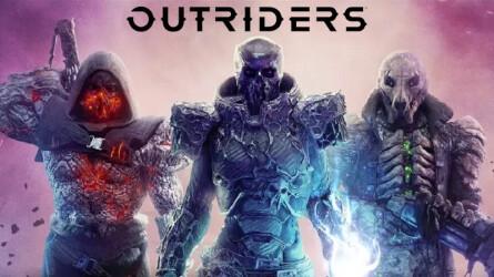 Кооперативный шутер Outriders вышел на PS5 и PS4