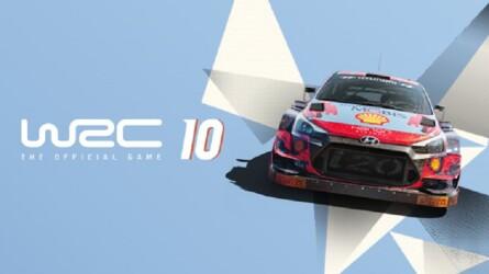 Nacon показали заезд в греческом Акрополе WRC 10