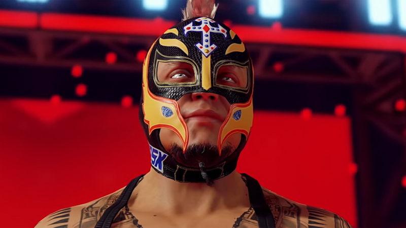 Тизер-трейлер анонса WWE 2K22