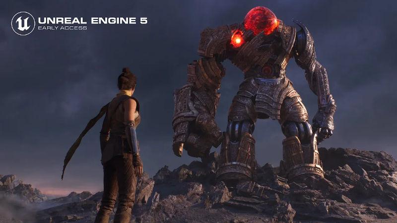 Компания Epic Games показала новое демо с демонстрацией возможностей Unreal Engine 5