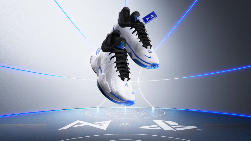 Кроссовки Nike PG 5 PlayStation 5 Colorway от Пола Джорджа