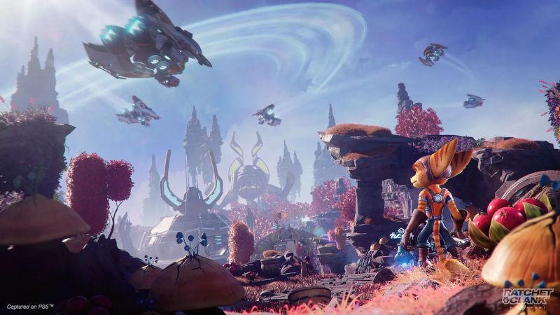 Трейлер Ratchet & Clank: Rift Apart — Планеты и открытия