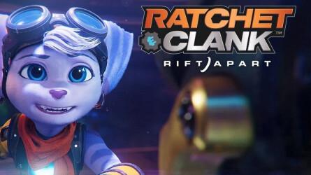 Сюжетный трейлер приключенческого экшена Ratchet & Clank: Rift Apart для PS5