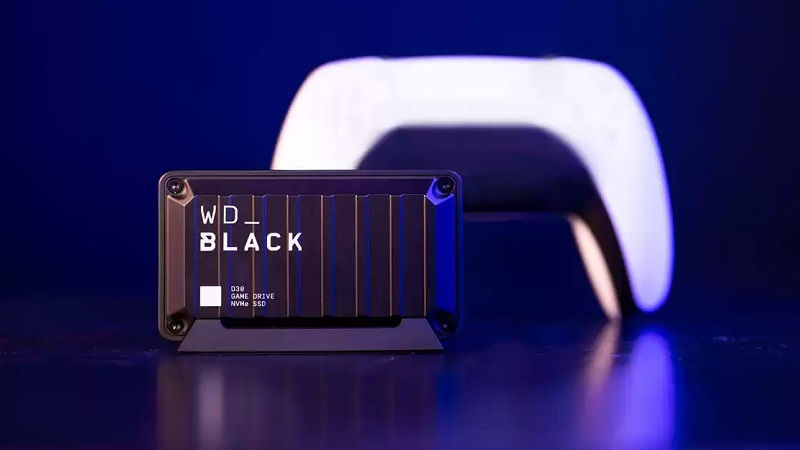 WD_BLACK D30 Game Drive — новый компактный внешний SSD-накопитель для PS5 от Western Digital