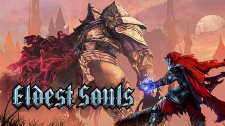 Геймплейный трейлер к выходу Eldest Souls на PS4 и PS5