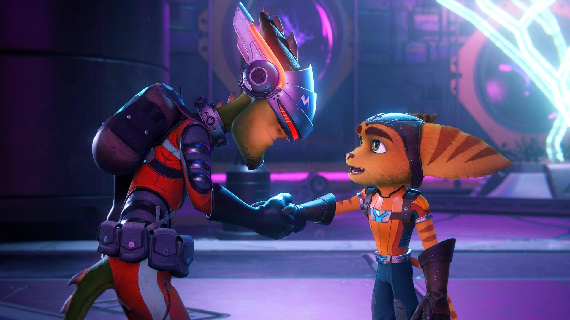 Скриншоты Ratchet & Clank: Rift Apart