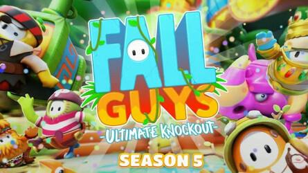 5 сезон Fall Guys: Ultimate Knockout перенесет вас в джунгли