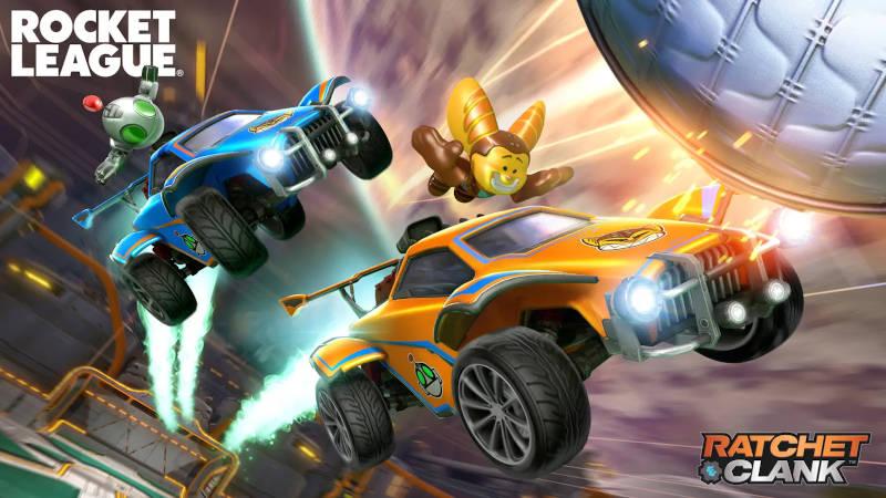 Поддержка 120 кадров на PS5 и Ratchet & Clank в Rocket League