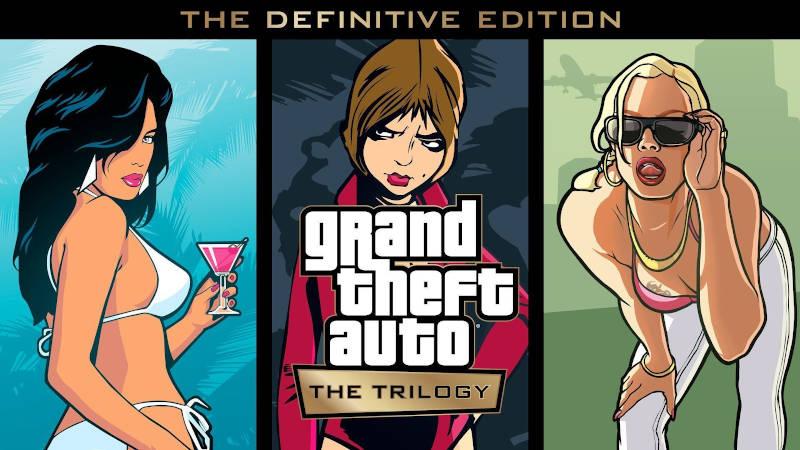Rockstar Games анонсировали Grand Theft Auto The Trilogy — The Definitive Edition для PS4 и PS5