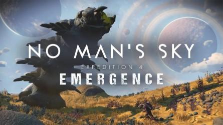 Приключение на планете Васан с огромными червями в сюжетном дополнение No Man's Sky