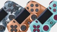 Три новые расцветки Dualshock 4