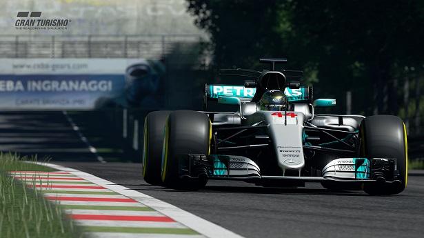 GT Sport - Mercedes F1