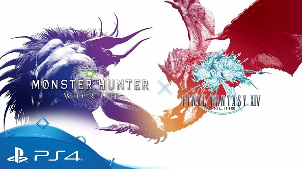 Monster Hunter World с Final Fantasy XIV