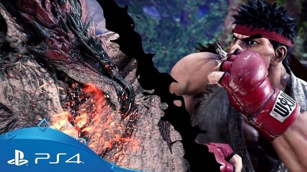 В Monster Hunter: World появятся персонажи из Street Fighter