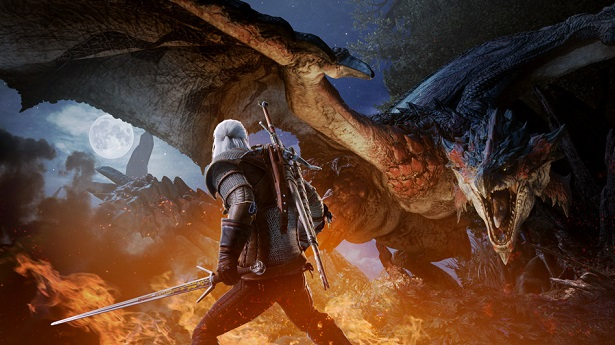 Monster Hunter World получит коллаборацию с The Witcher 3: Wild Hunt