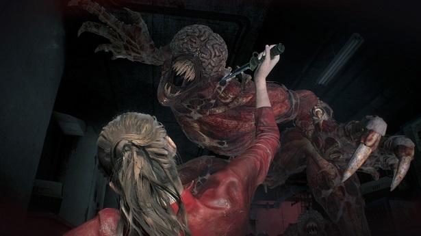 """Resident Evil 2 - Битва с """"Лизунами"""""""