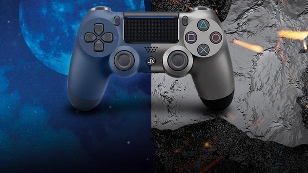 Dualshock 4 - «Стальной черный» и «Полуночный синий»