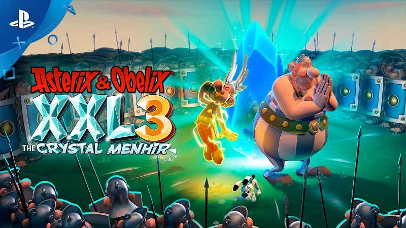 Релизный трейлер Asterix & Obelix XXL 3: The Crystal Menhir