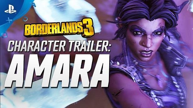 Трейлер Borderlands 3 – Амара