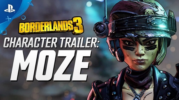 Трейлер Borderlands 3 – Моуз
