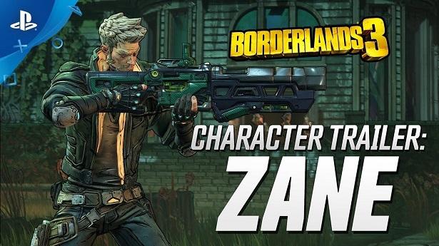 Трейлер Borderlands 3 — Зейн Флинт