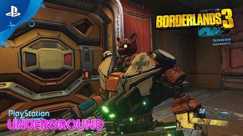 35 минут геймплея Borderlands 3 от PlayStation Underground