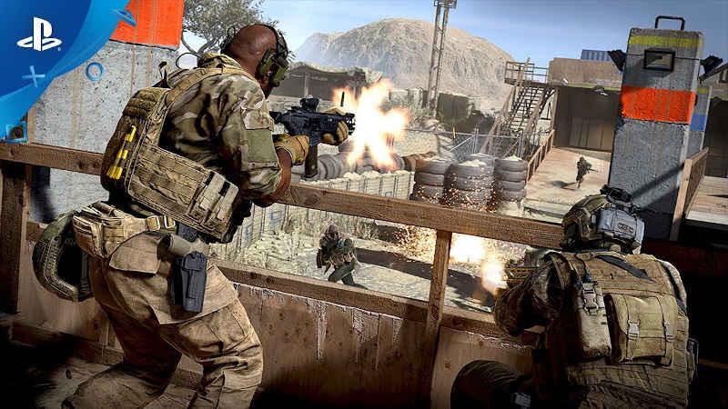 Альфа-тест Call of Duty: Modern Warfare на PS4 режима 2 на 2 «Огневой контакт» стартует сегодня. Что нужно знать