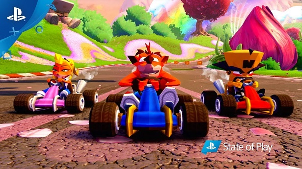 20 минут геймплея Crash Team Racing Nitro-Fueled