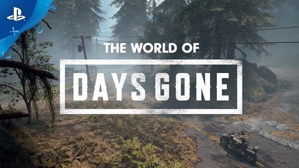 Days Gone - Мир игры