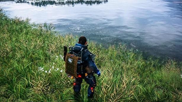 Новые геймплейные кадры из Death Stranding