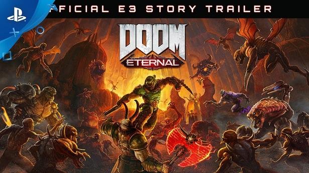 Сюжетный трейлер с E3 2019 и дата выхода DOOM Eternal на PS4