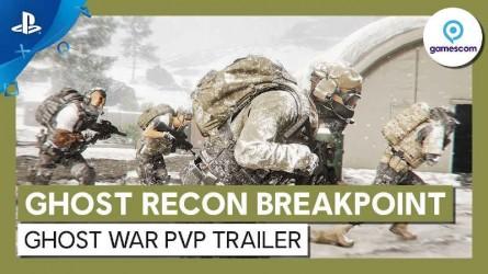 Трейлер Ghost Recon Breakpoint с Gamescom 2019 — ПвП Война Призраков