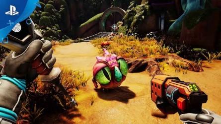 Приключение Journey to the Savage Planet выходит на PS4 в начале следующего года