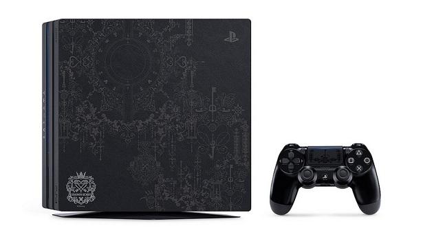 Лимитированное издание PS4 Pro в стиле Kingdom Hearts III