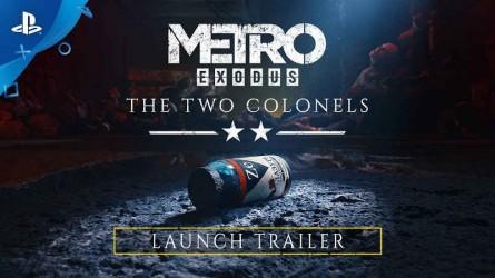 Трейлер первого сюжетного дополнения Metro Exodus с Gamescom 2019 — Два полковника